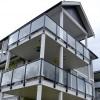 15-130, fascia mount glass rail