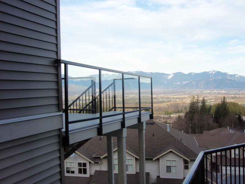Can You Powder Coat Aluminum >> Aluminum Railings | Gaultier Enterprises